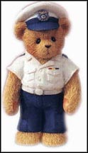 Coast Guard - Life Is Smooth Sailing With You, Cherished Teddies Figurine #742961