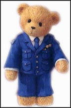 Air Force - The Sky's The Limit, Cherished Teddies Figurine #742988