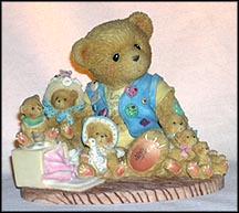 Collecting Friends Along The Way, Cherished Teddies Figurine #759511I