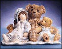 Elmer And Friends - Friends Are The Thread That Holds, Cherished Teddies Figurine #786691