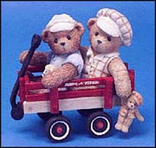 Booker & Fletcher - Together, Wherever We Go, Cherished Teddies Figurine #786861 MAIN
