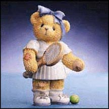 Roberta - Being Your Friend Is My Favorite Pastime, Cherished Teddies Figurine #789615 MAIN
