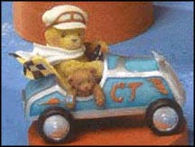 Andre - The Finish Line Is Only A Lap Away, Cherished Teddies Figurine #789836