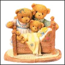 Katrina, Fritz And Forrest - Friendship Appears In The Most Unlikely Places, Cherished Teddies Figurine #795607