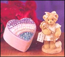 Josette - You Are The Key To My Heart, Cherished Teddies Figurine #805610S