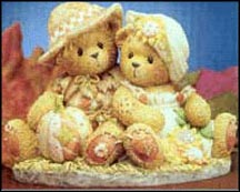 Dennis And Barb - I Knew I Would Fall For You, Cherished Teddies Figurine #848522