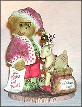 Wendall - Have You Been Naughty Or Nice?, Cherished Teddies Figurine #848565