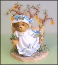 Edna - The Leaves Of Change Bring Back The Fondest Memories, Cherished Teddies Figurine #867470