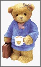 Katherine - You're The Best In The Business., Cherished Teddies Figurine #874671