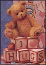 I Love Hugs Letters Mini, Cherished Teddies Figurine #902969