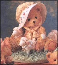 Charity - I Found A Friend In Ewe, Cherished Teddies Figurine #910678