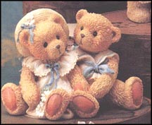 Heidi And David - Special Friends, Cherished Teddies Figurine #910708