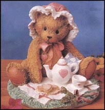 Marie - Friendship Is A Special Treat, Cherished Teddies Figurine #910767