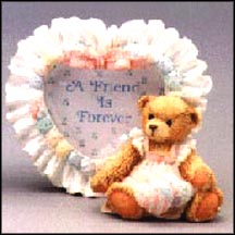 Girl Heart Shaped Photo Frame - Amy, Cherished Teddies Photo Frame #910783G