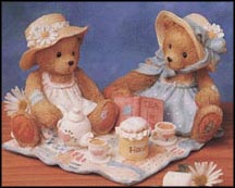 Freda And Tina - Our Friendship Is A Perfect Blend, Cherished Teddies Figurine #911747