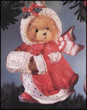 Girl With Muff , Cherished Teddies Ornament #912832