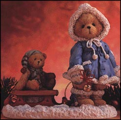 Mary - A Special Friend Warms The Season, Cherished Teddies Figurine #912840