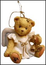 Angel With Bells, Cherished Teddies Ornament #912980B