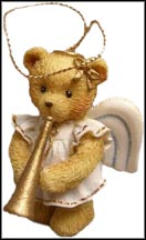 Angel With Trumpet, Cherished Teddies Ornament #912980T