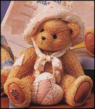 Phoebe (February) - Be Mine, Cherished Teddies Figurine #914762