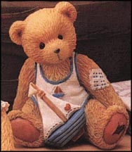 Arthur (August) - Smooth Sailing, Cherished Teddies Figurine #914827