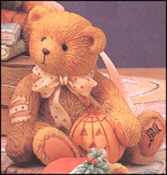 Sweet Treats - Oscar (October), Cherished Teddies Figurine #914843