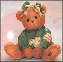 Kathleen - Luck Found Me A Friend In You, Cherished Teddies Figurine #916447 MAIN