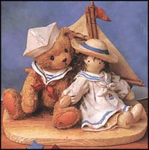 Zachary - Yesterday's Memories, Cherished Teddies Figurine #950491