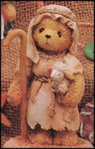 Sammy - Little Lambs Are In My Care, Cherished Teddies Figurine #950726