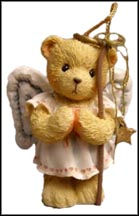 Angel Bear - Angie, Cherished Teddies Ornament #950777