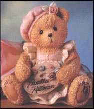 Priscilla Ann - There's No One Like Hue, Cherished Teddies Figurine #CRT025