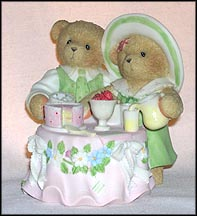 Hilary & Kurtis D. Claw, Cherished Teddies Figurine #CT0043