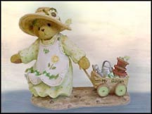 Savannah Tends Her Garden With Love And Care, Cherished Teddies Figurine #CT021