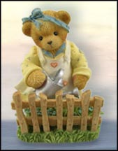 Dolores Uses Her Garden As A Brief, But Wonderful, Escape, Cherished Teddies Figurine #CT022