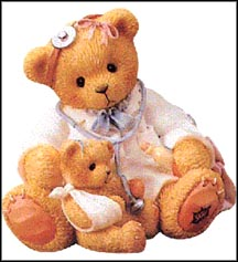 Dr. Darlene Makebetter Charter Piece, Cherished Teddies Figurine #CT104