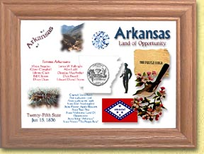 Arkansas State Quarter Frame