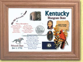 Kentucky State Quarter Frame