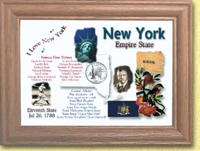 New York State Quarter Frame