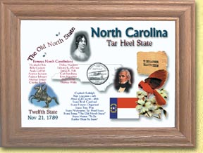 North Carolina State Quarter Frame