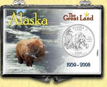 Alaska - The Great Land Snaplock Display