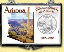 Arizona - Grand Canyon Snaplock Display