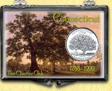 Connecticut - Charter Oak Snaplock Display