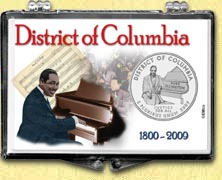 District of Columbia - Duke Ellington Snaplock Display