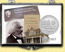 Frederick Douglass National Historic Site Snaplock Display