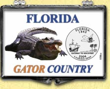 Florida - Gator Country Snaplock Display