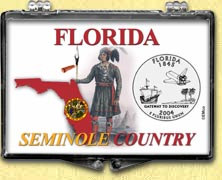 Florida - Seminole Country Snaplock Display