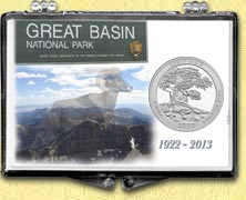 Great Basin National Park Snaplock Display