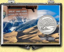 Great Sand Dunes National Park Snaplock Display
