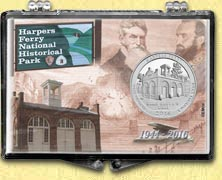Harpers Ferry National Historical Park Snaplock Display
