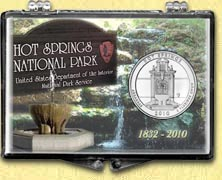Hot Springs National Park - Monument Snaplock Display MAIN